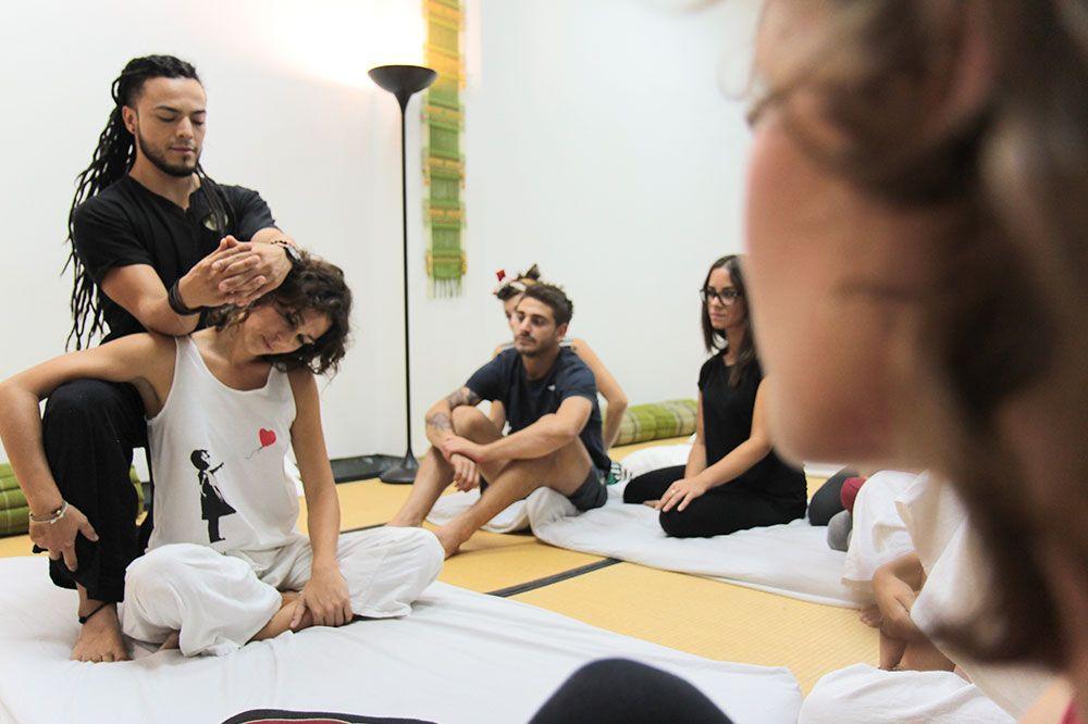 Curso de experto masaje tailandes Madrid
