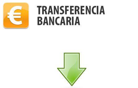 Pagar por transferencia bancaria